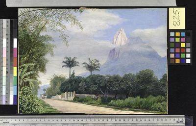 View of the Corcovado Mountain, near Rio de Janeiro, Brazil